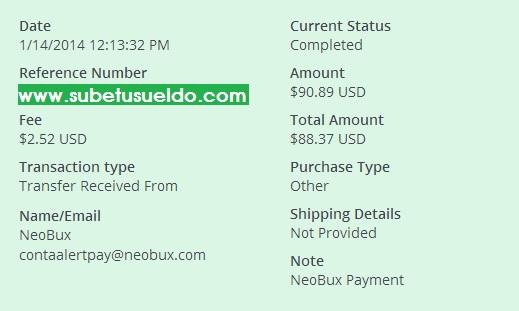 pago de neobux