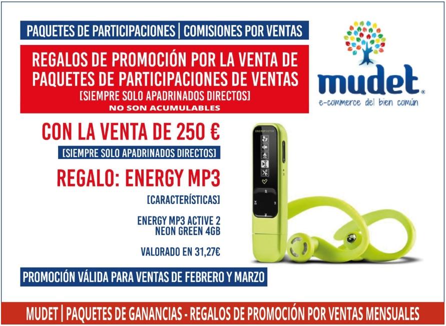 mp3 promocion