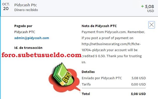 pidycash-paga