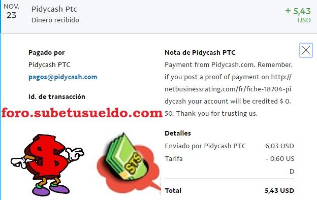 pidycash pago